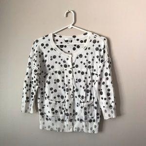 CAbi style 875 polka dots cardigan